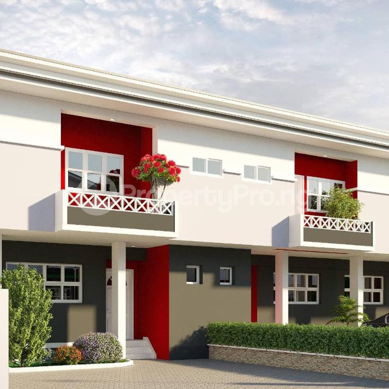 3 bedroom Terraced Duplex House for sale Orchid Road off Chevron Drive. Eleganza Lagos chevron Lekki Lagos - 0