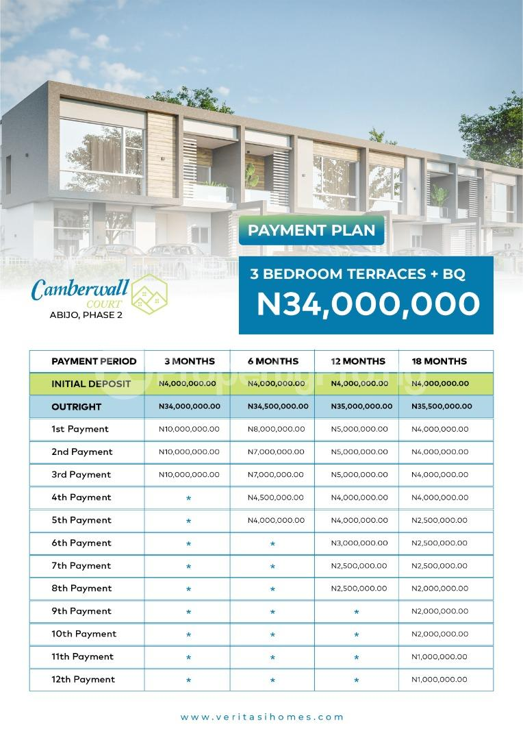 3 bedroom Terraced Duplex for sale Abijo Ajah Lagos - 1