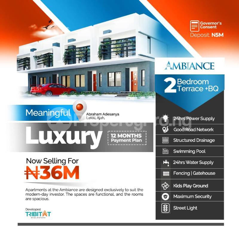 3 bedroom Terraced Duplex for sale Abraham Adesanya Abraham adesanya estate Ajah Lagos - 1