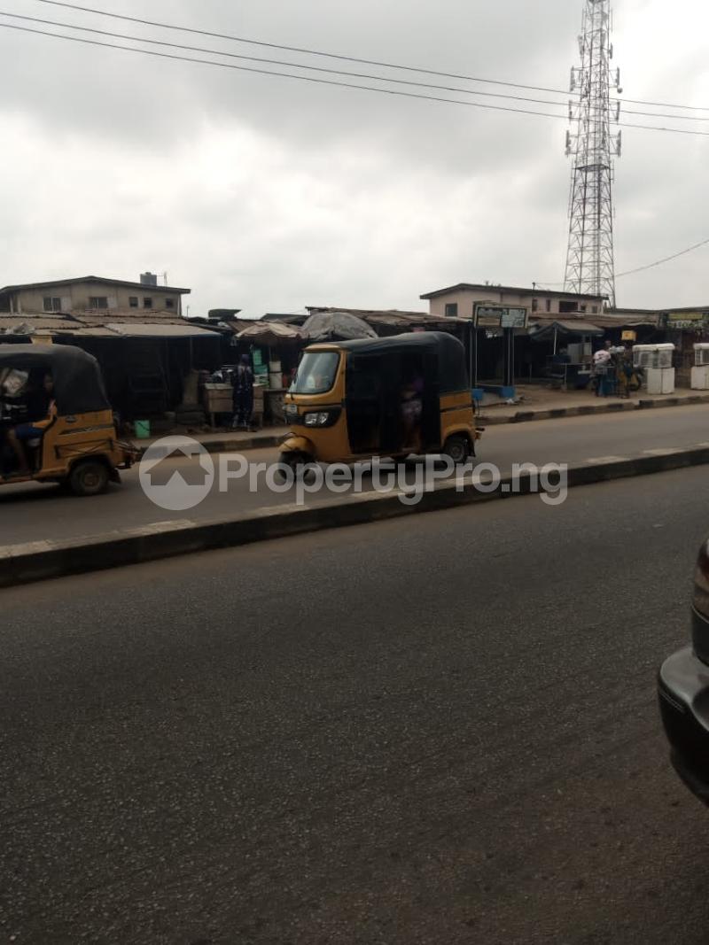 Commercial Land for sale Ikotun Igando Road Lagos. Egbe/Idimu Lagos - 1