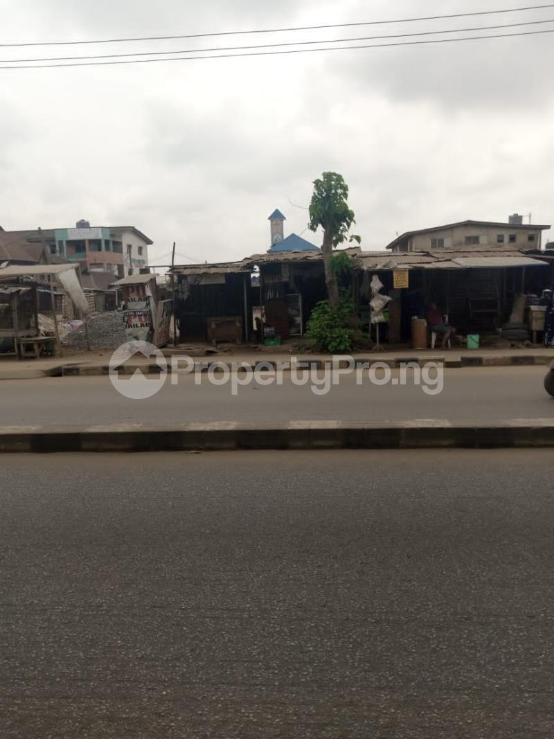 Commercial Land for sale Ikotun Igando Road Lagos. Egbe/Idimu Lagos - 0