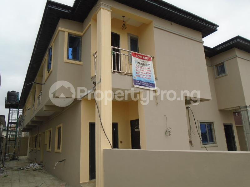 4 bedroom Semi Detached Duplex House for sale Atinuke Olabanji Street Ikeja Lagos - 1