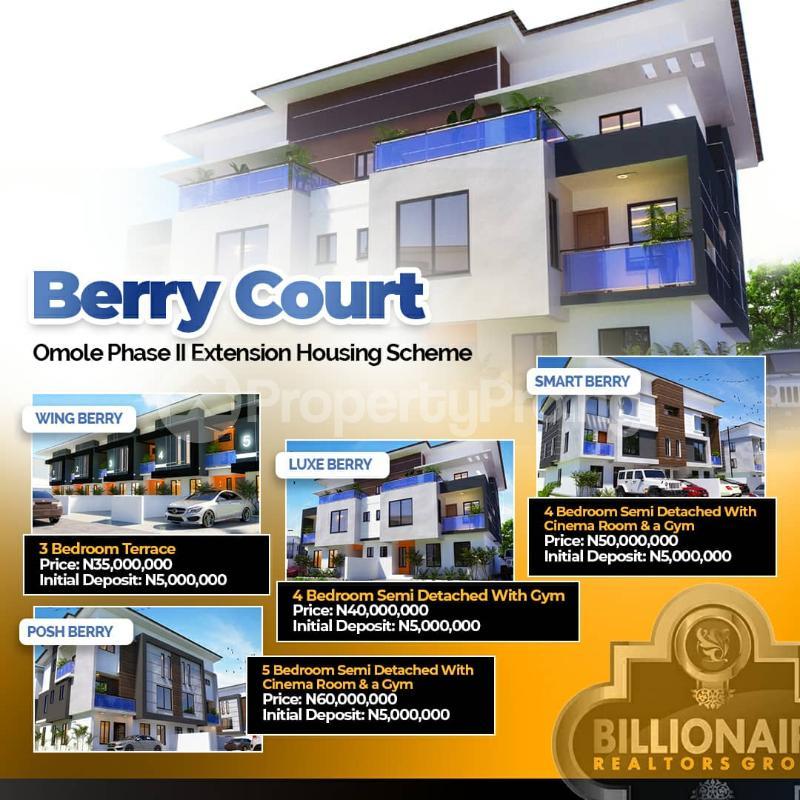 4 bedroom Semi Detached Duplex House for sale Omole phase 2 Ojodu Lagos - 0