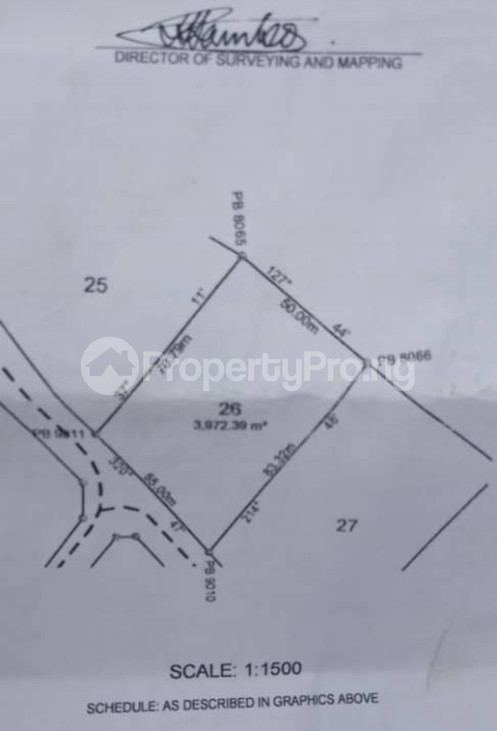 Commercial Land for sale Katampe Ext Abuja - 2