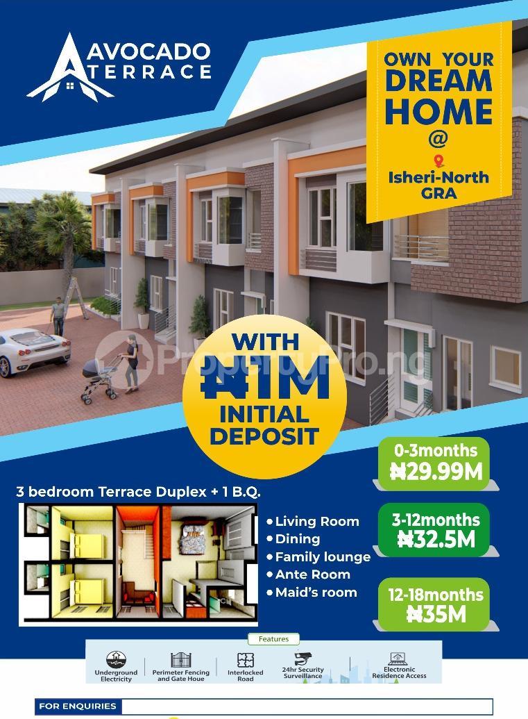 3 bedroom House for sale Queens Garden Isheri North Gra Estate Ogudu Road Ojota Lagos - 1