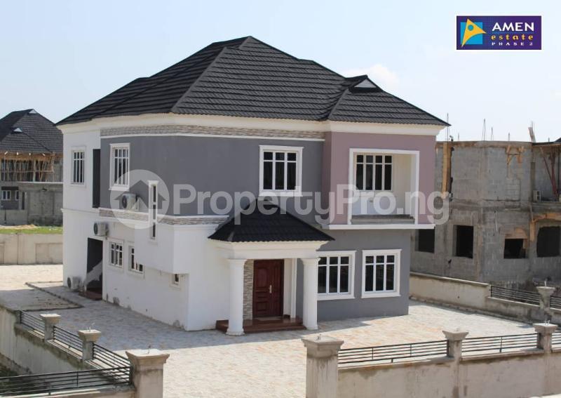 3 bedroom Detached Duplex House for sale Amen Estate Eleko Ibeju-Lekki Lagos - 0