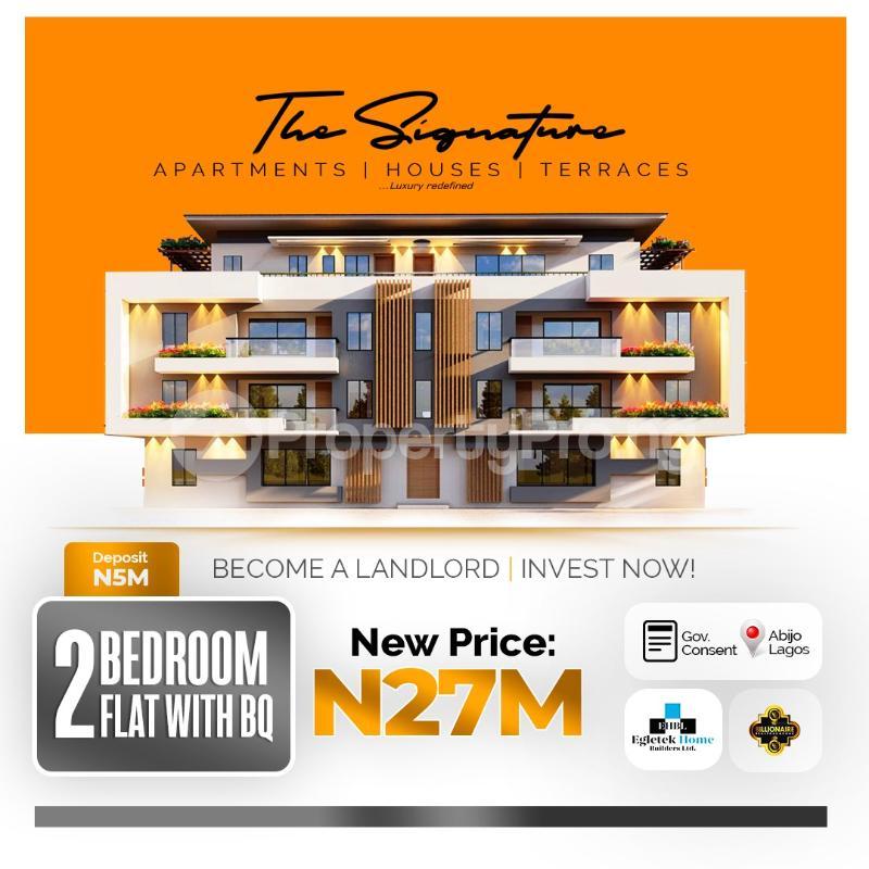 2 bedroom Terraced Duplex House for sale Abijo Ajah Lagos - 0