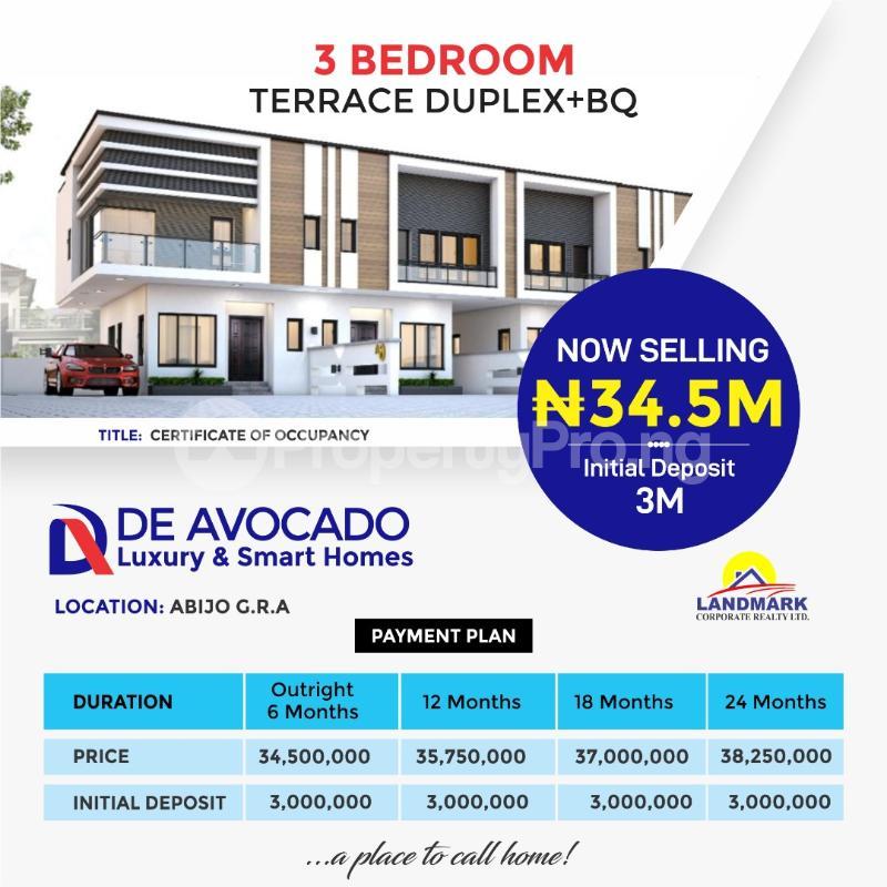 3 bedroom Terraced Duplex for sale Abijo Gra Abijo Ajah Lagos - 0