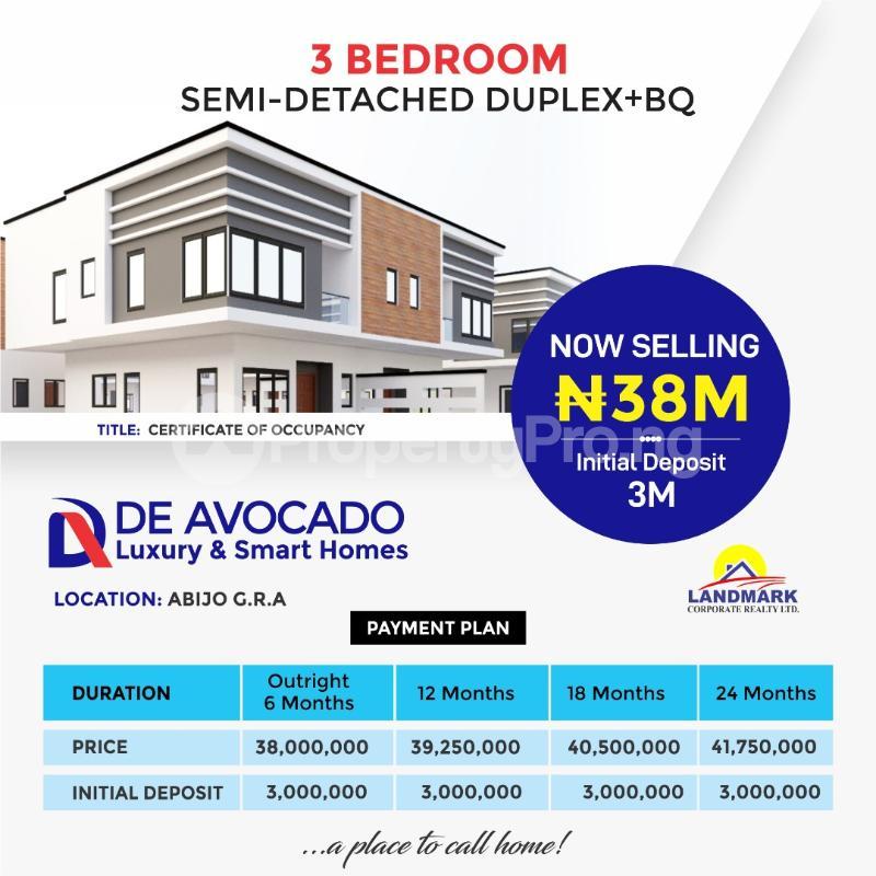 3 bedroom Terraced Duplex for sale Abijo Gra Abijo Ajah Lagos - 3