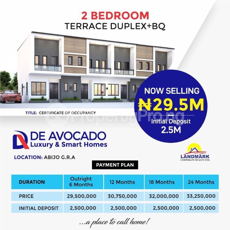 3 bedroom Terraced Duplex for sale Abijo Gra Abijo Ajah Lagos - 1