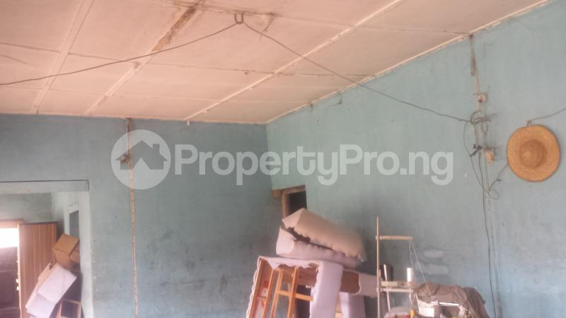 House for sale 4 Bedroom Bungalow On A 70x100 Land Size With Bq Along Iyesigie Street Off Oro Street. Easily Accessible From 5 Junction Is Available For Sales At #15 Milion Naira Negotiable. This Location Is At The Centre City Adjacent O&a Hotel Egor Edo - 1