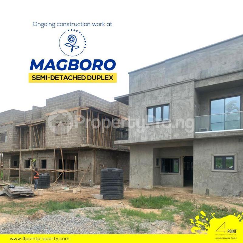 4 bedroom Semi Detached Duplex for sale 5 Minutes From The Popular Journalist Estate & 10 Mins From Alausa Secretariat Magboro Obafemi Owode Ogun - 3