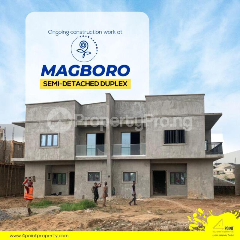 4 bedroom Semi Detached Duplex for sale 5 Minutes From The Popular Journalist Estate & 10 Mins From Alausa Secretariat Magboro Obafemi Owode Ogun - 2