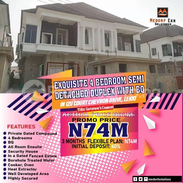 5 bedroom Semi Detached Duplex for sale Chevron Drive chevron Lekki Lagos - 0