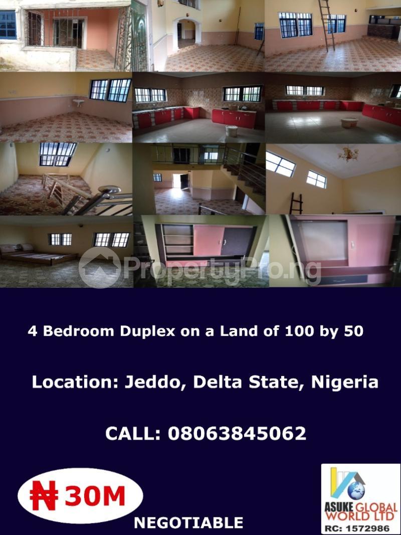4 bedroom House for sale Jed do Delta state ,Nigeria Warri Delta - 1