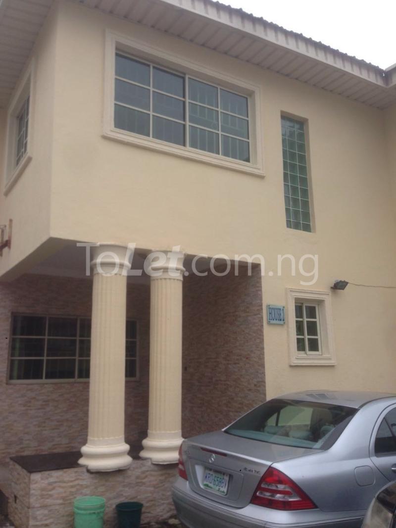 4 bedroom House for rent Alpha Beach Road Off Atlantic View Estate Lekki Phase 2 Lekki Lagos - 0