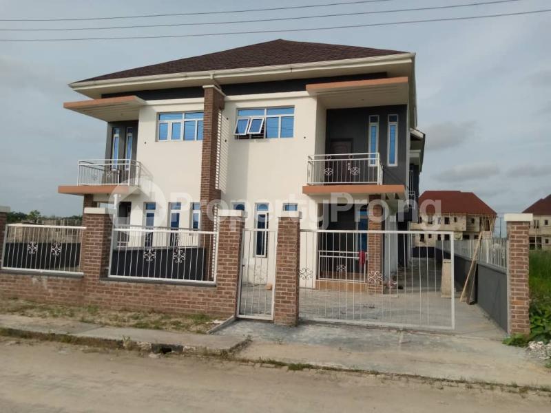 4 bedroom Semi Detached Duplex House for sale 3 Minutes From Shoprite Sangotedo Ajah Lagos - 0