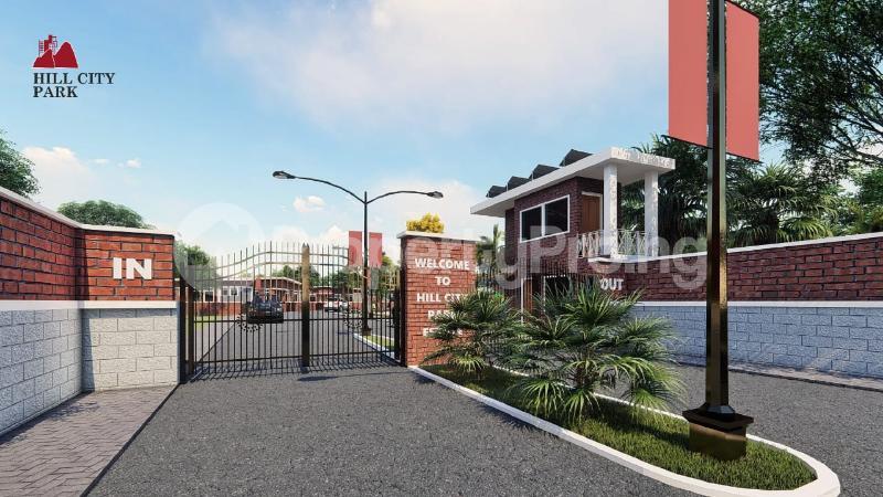4 bedroom Detached Bungalow for sale Off Simawa Road After Rccg New Auditorium Mowe Obafemi Owode Ogun - 1