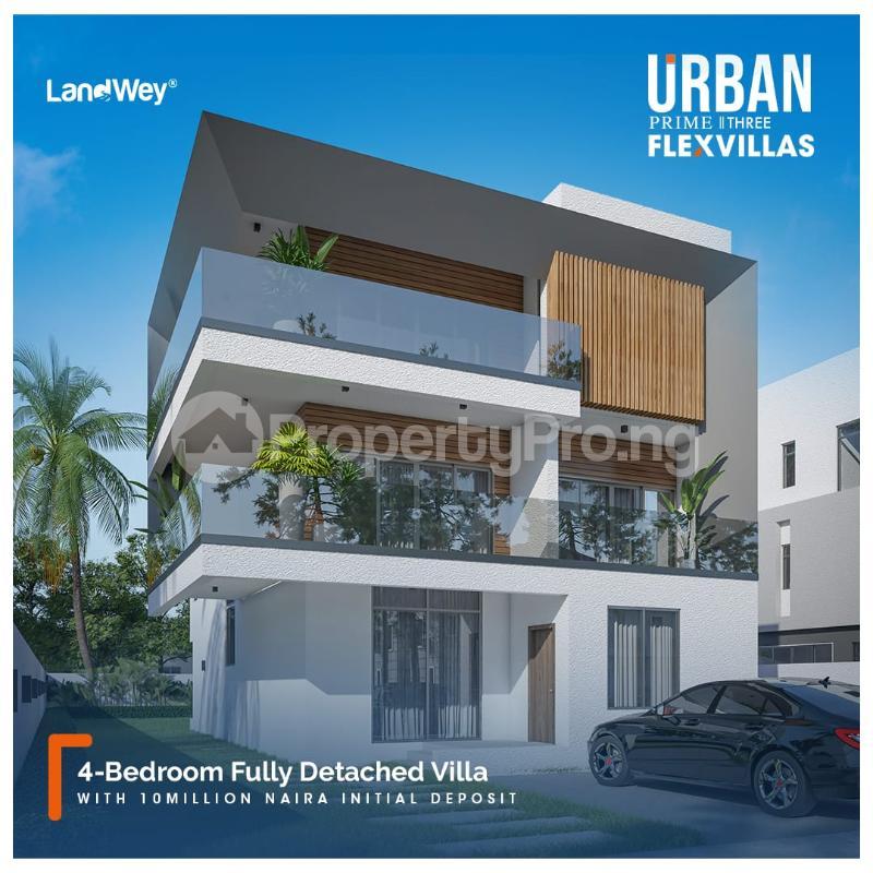 4 bedroom Detached Duplex for sale Abraham adesanya estate Ajah Lagos - 0