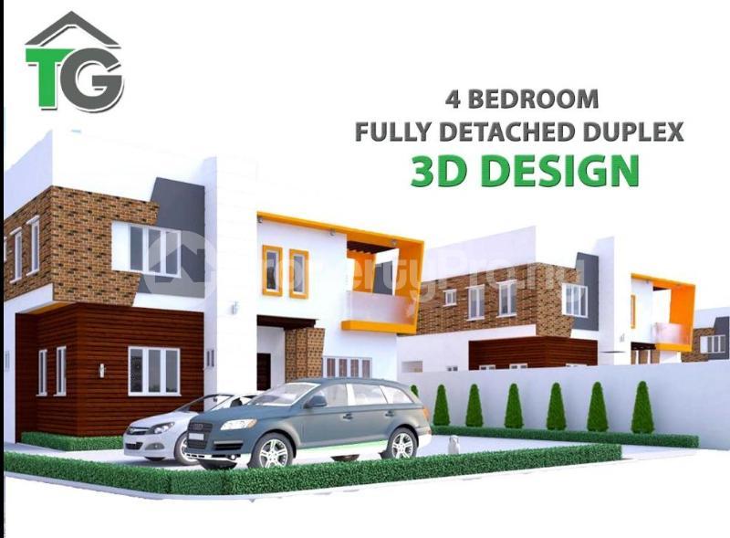4 bedroom Detached Duplex House for sale Idu Abuja - 0