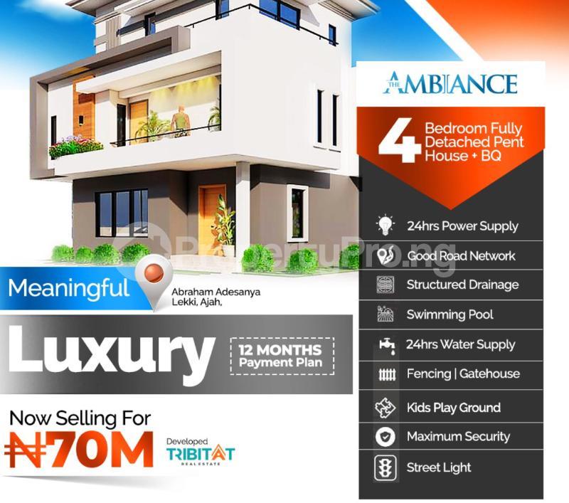 House for sale Atlantic layout Estate  Ajiwe Ajah Lagos - 2