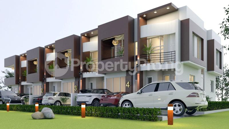 4 bedroom Terraced Duplex House for sale Off General Paints Bus Stop Abraham adesanya estate Ajah Lagos - 1