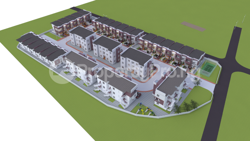 4 bedroom Terraced Duplex House for sale Off General Paints Bus Stop Abraham adesanya estate Ajah Lagos - 0