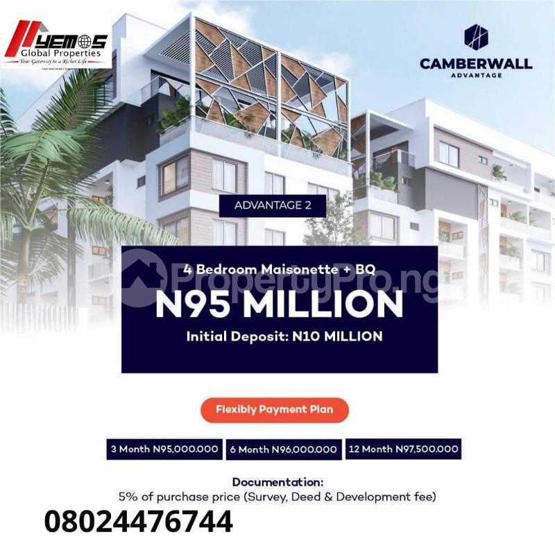 4 bedroom Massionette House for sale Ikate Lekki Lagos - 0