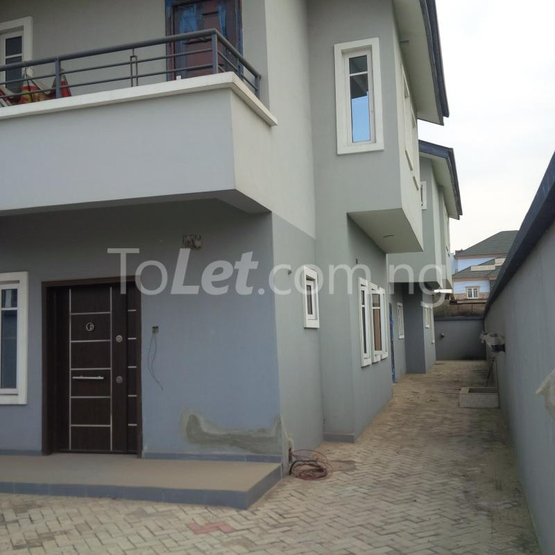 4 bedroom House for sale Private Estate Berger Ojodu Lagos - 4