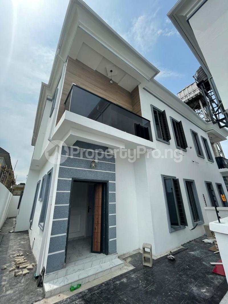 Semi Detached Duplex House for sale Ikate Lekki Lagos - 1