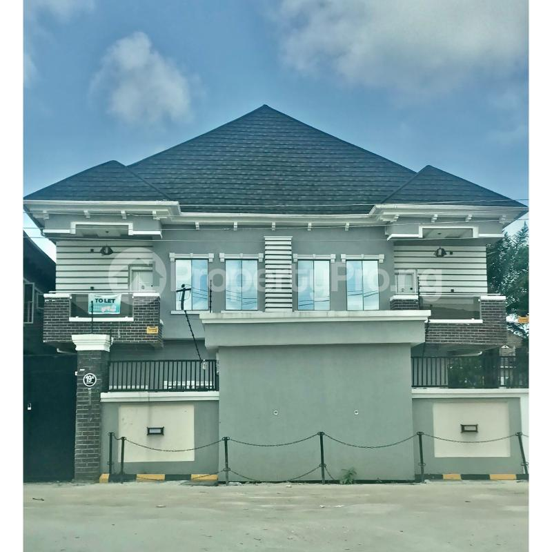 4 bedroom Semi Detached Duplex for rent Thera Annex Estate, Sangotedo Ajah Lagos - 0