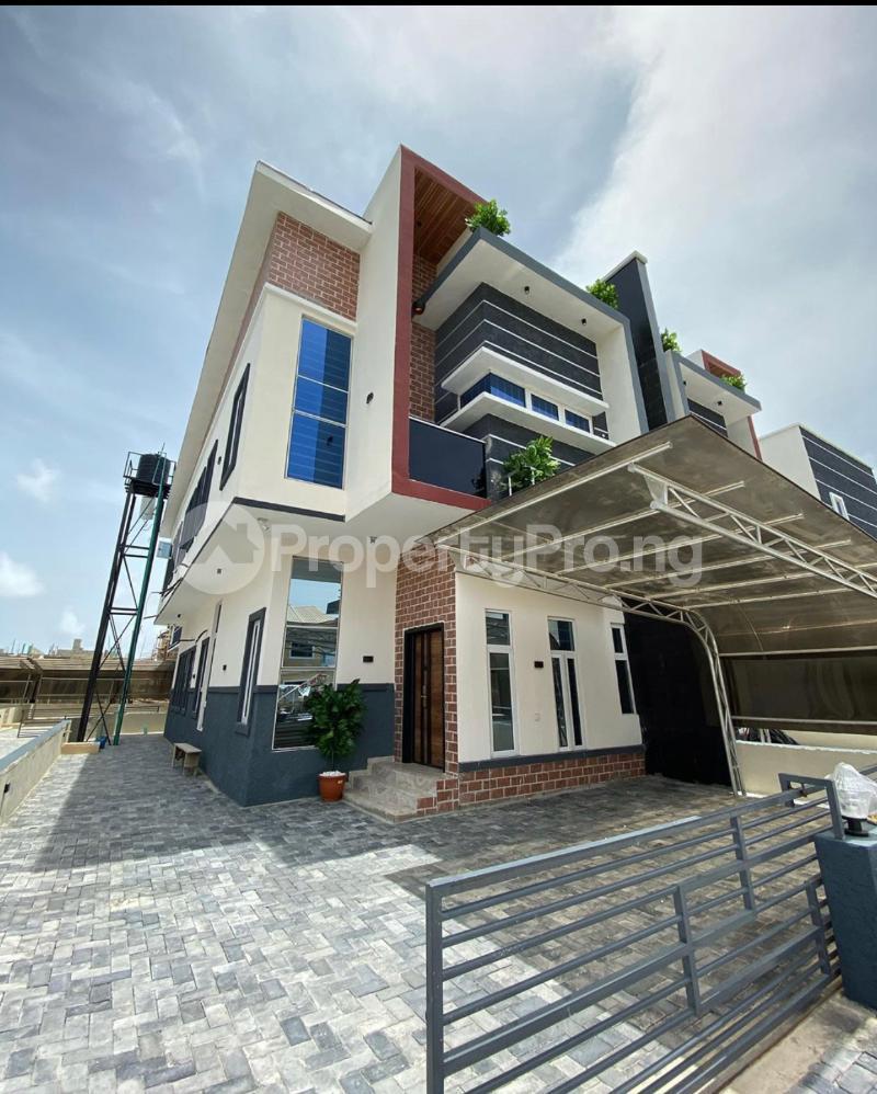 4 bedroom Semi Detached Duplex House for sale 2nd Tollgate Orchild Road Lakeview Estate Lekki Phase 2 Lekki Lagos - 0