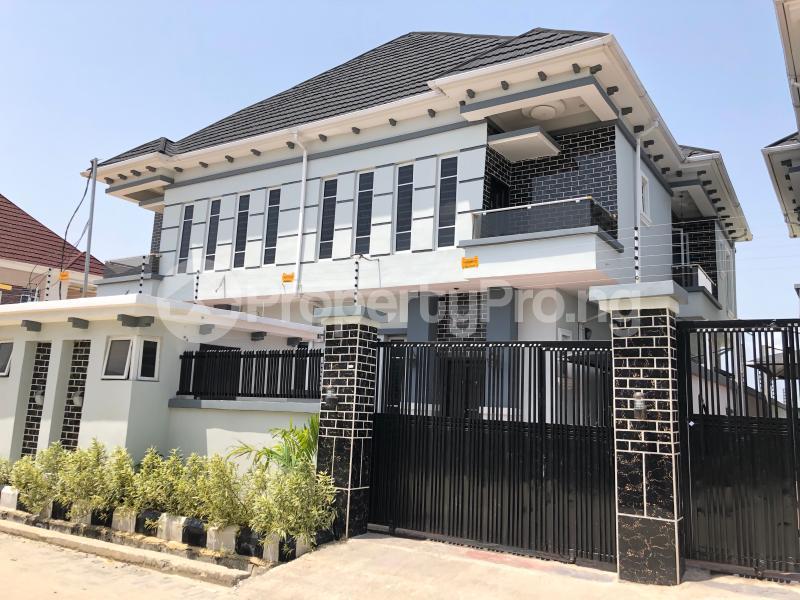 4 bedroom Semi Detached Duplex House for rent Lekki Palm City Estate Ado Ajah Lagos - 0