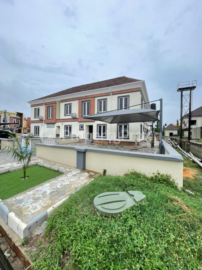 4 bedroom Semi Detached Duplex for sale Second Toll Gate, Lekki chevron Lekki Lagos - 0