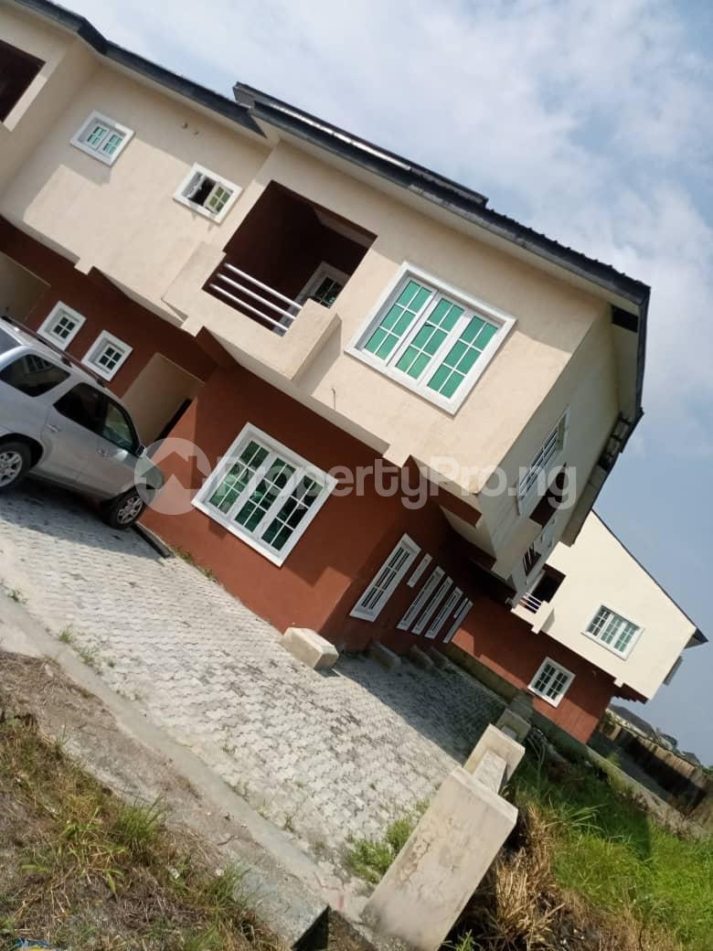 4 bedroom Semi Detached Duplex for sale Lekki Garden , Opposite Abraham Adesanya Estate , Ajah .just Before Lbs Lekki Gardens estate Ajah Lagos - 1