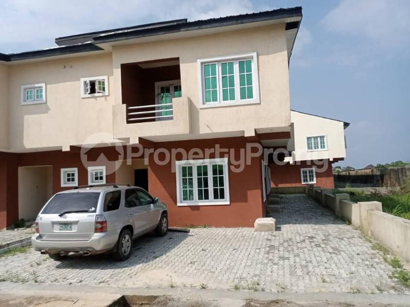 4 bedroom Semi Detached Duplex for sale Lekki Garden , Opposite Abraham Adesanya Estate , Ajah .just Before Lbs Lekki Gardens estate Ajah Lagos - 0