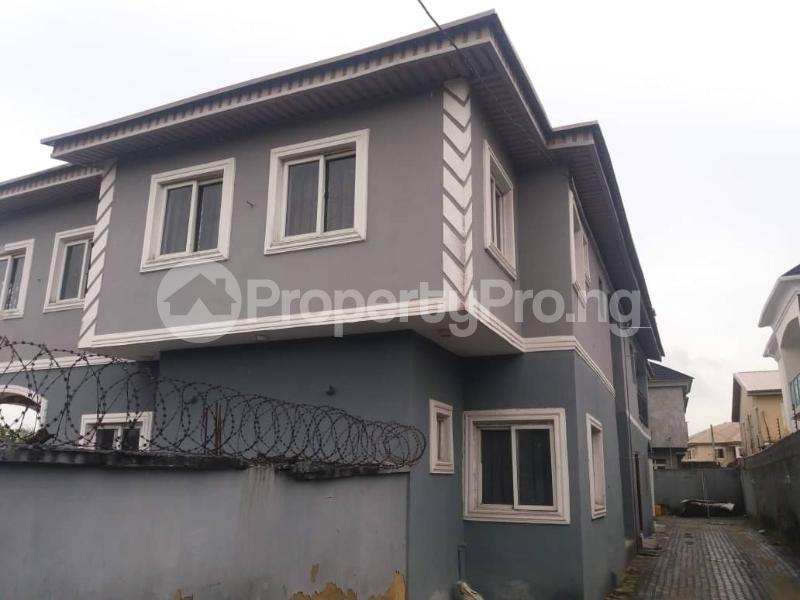 4 bedroom Semi Detached Duplex for sale 10 Joseph Imobio Close, Victory Estate Thomas estate Ajah Lagos - 1