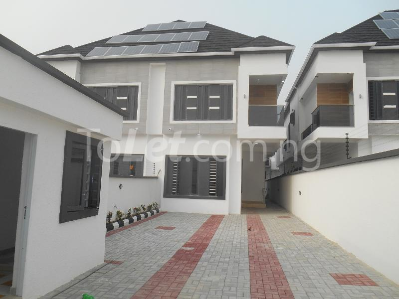 4 bedroom House for sale White Oak Estate, Ologolo Lekki Lagos - 5