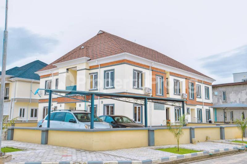 4 bedroom Semi Detached Duplex House for rent Buena Vista Estate chevron Lekki Lagos - 0