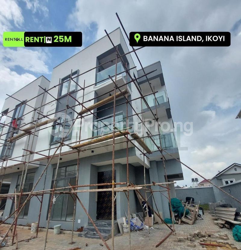 4 bedroom Semi Detached Duplex House for rent Banana Island Estate Banana Island Ikoyi Lagos - 0