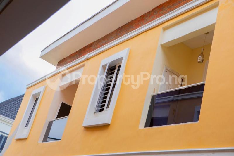 4 bedroom Terraced Duplex House for rent Chevron Alternative chevron Lekki Lagos - 4