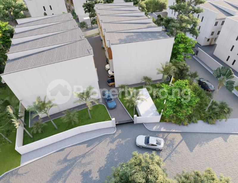 4 bedroom Terraced Duplex for sale . Alaka Estate Surulere Lagos - 1