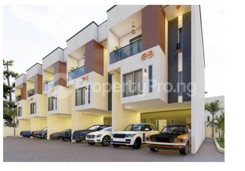4 bedroom Terraced Duplex for sale . Alaka Estate Surulere Lagos - 2