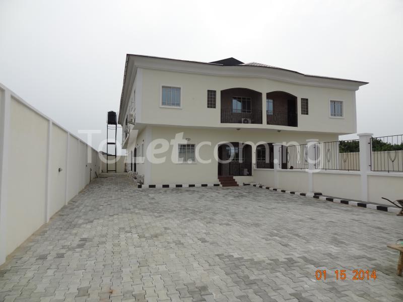 4 bedroom House for sale Ajayi Apata Estate, Beside Fara Park Estate, Ajah Sangotedo Ajah Lagos - 0