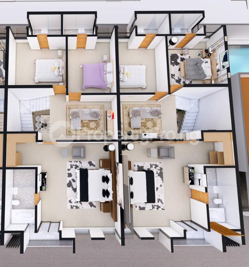 4 bedroom Terraced Duplex for sale Orchid Hotel Road,lekki chevron Lekki Lagos - 5