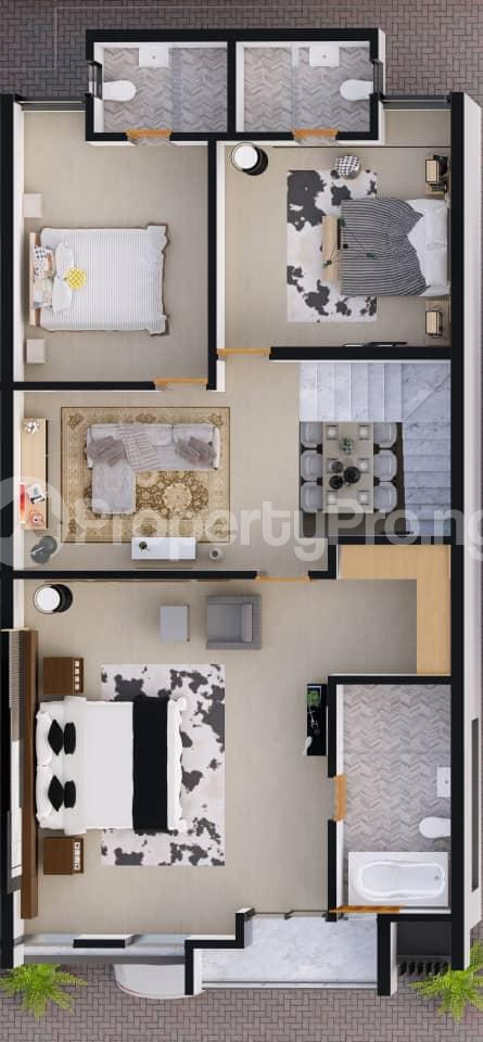 4 bedroom Terraced Duplex for sale Orchid Hotel Road,lekki chevron Lekki Lagos - 14