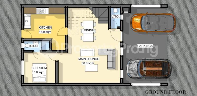 4 bedroom Terraced Duplex for sale Orchid Hotel Road,lekki chevron Lekki Lagos - 10