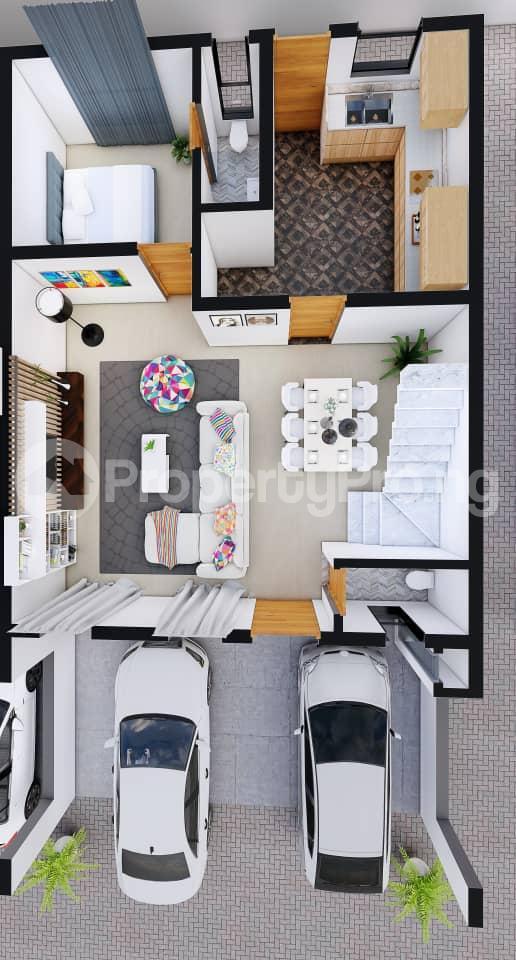 4 bedroom Terraced Duplex for sale Orchid Hotel Road,lekki chevron Lekki Lagos - 9
