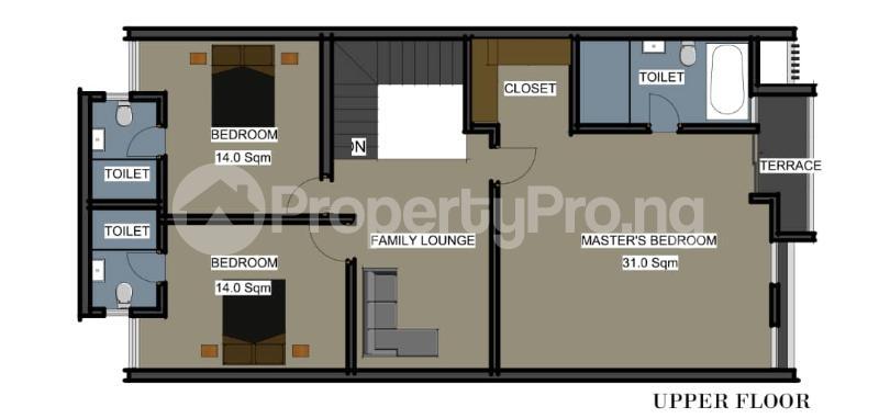 4 bedroom Terraced Duplex for sale Orchid Hotel Road,lekki chevron Lekki Lagos - 8