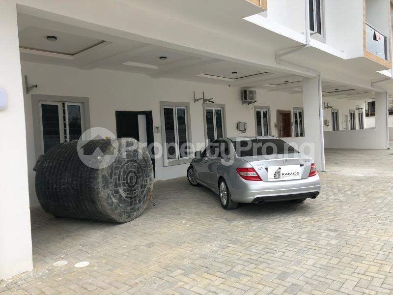 4 bedroom Terraced Duplex House for rent Orchid Road Lekki Phase 2 Lekki Lagos - 1